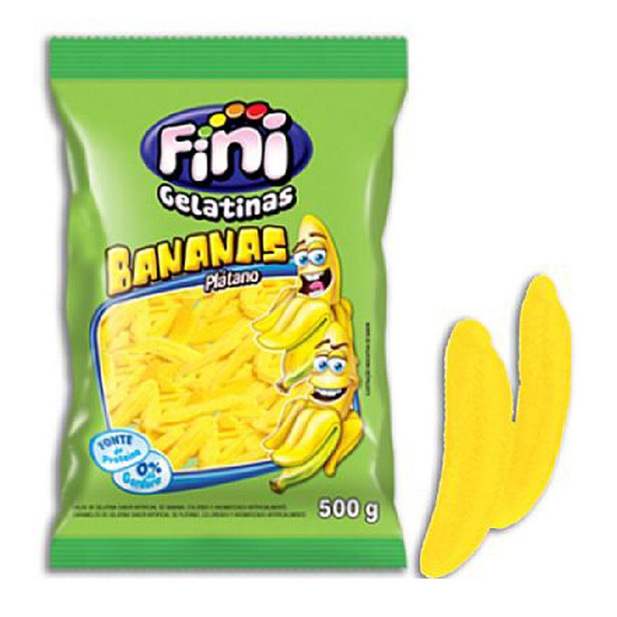 Bananas em Gelatina