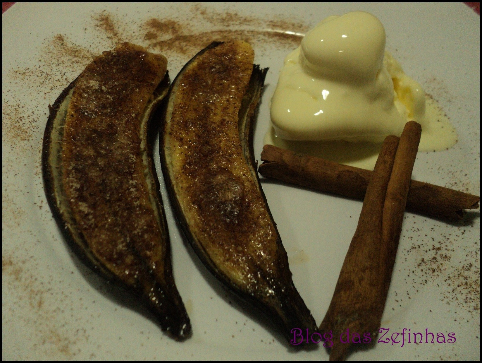 Banana ao Forno