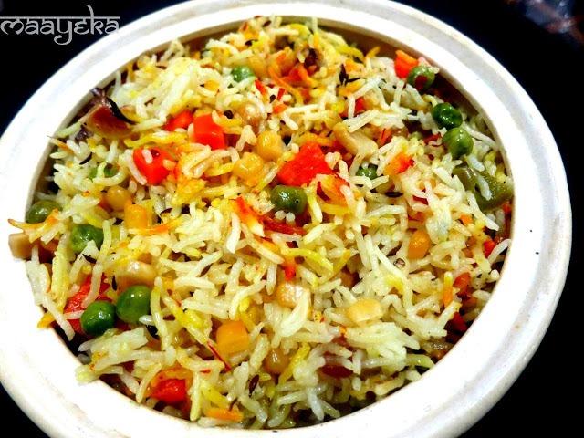 Very Minty, Very tasty, Vegetable Biryani