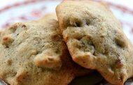 Biscoitos de banana madura