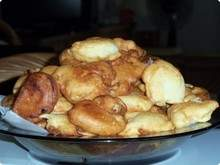 Bolinhos Fritos de Maçã