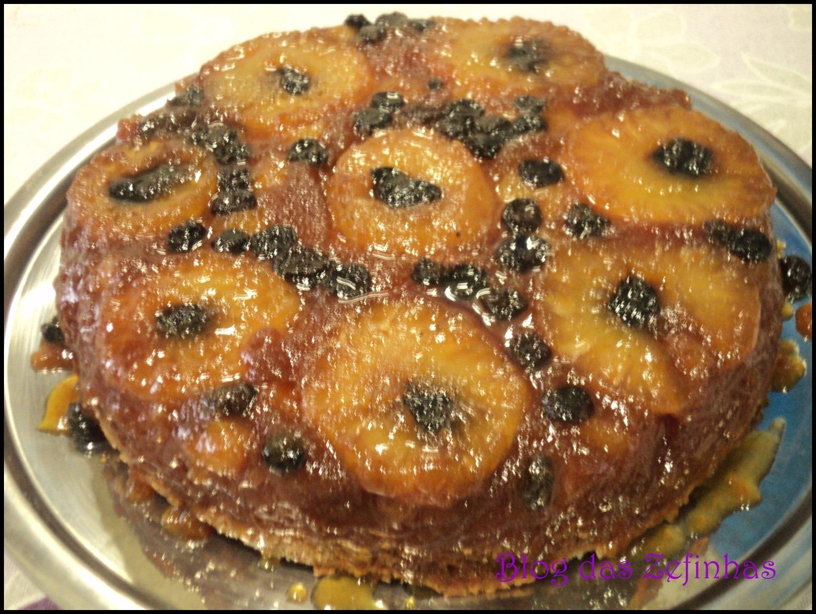 Torta de abacaxi II
