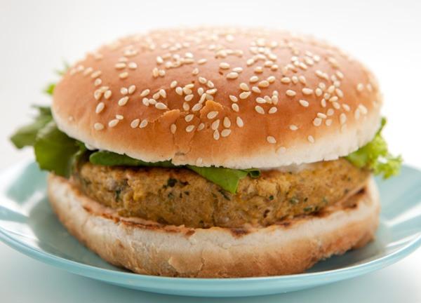 Hamburgers Vegetarianos