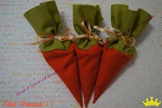 Fofuras de cenoura