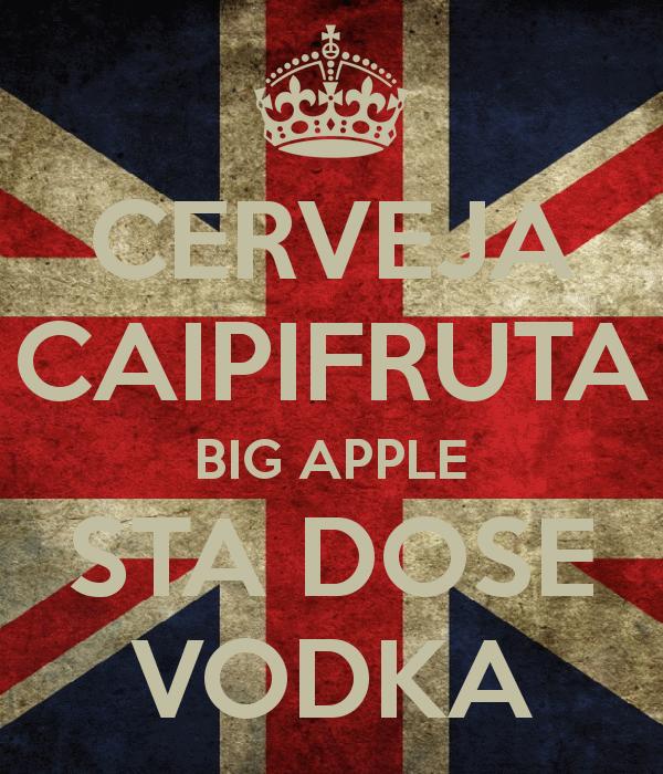 Vodka com Cerveja