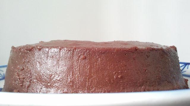 Pudim de Castanhas com Chocolate