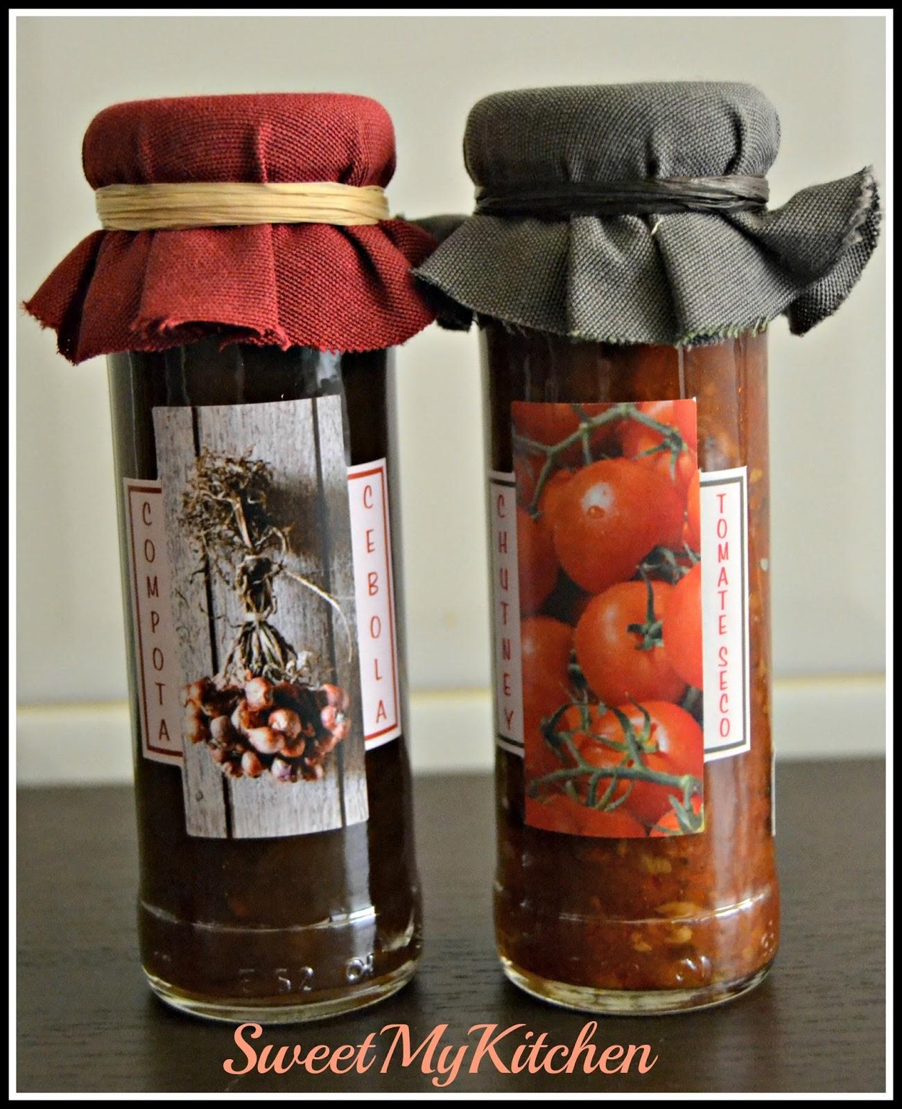 Chutney de tomate e cebola