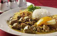 Molho de curry (para camarão, peixe, picadinho de carne refogada)