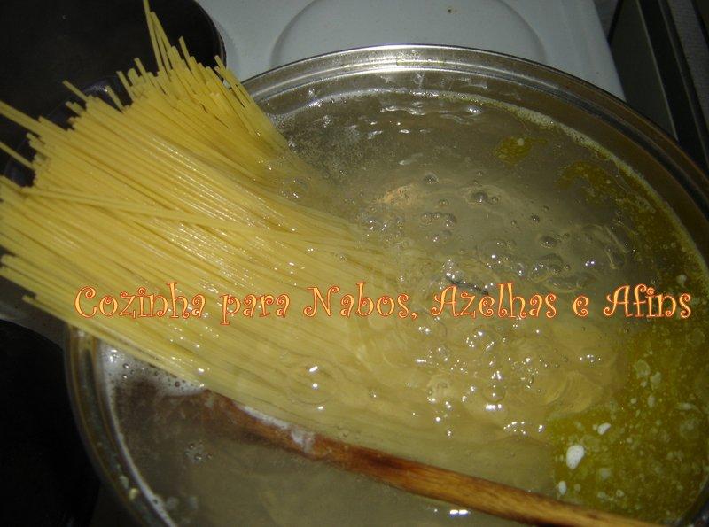 Cozer Esparguete