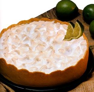 Torta aberta de Limão