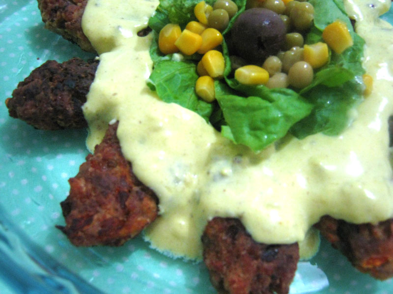 Croquete vegetariano