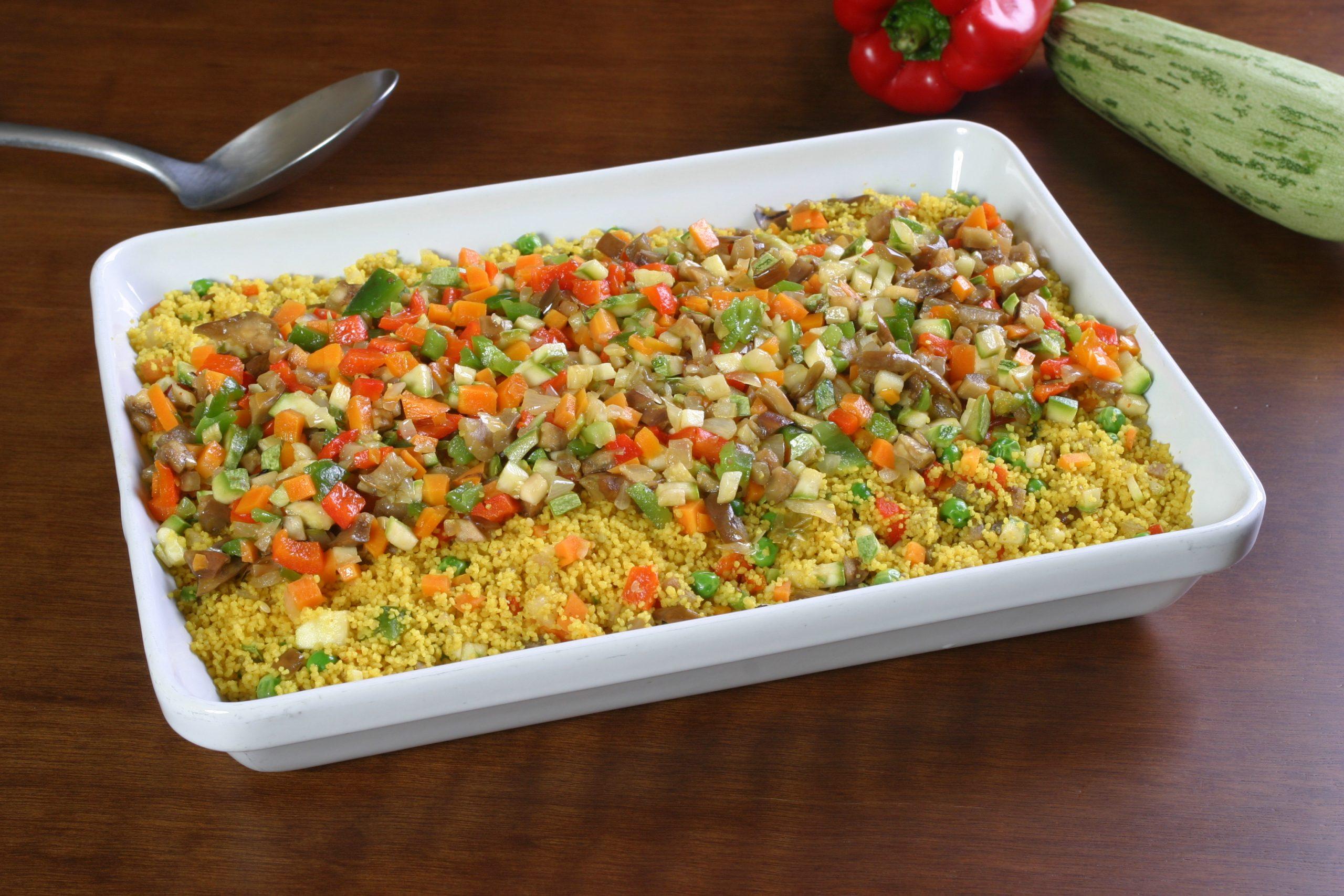 Cuscuz de legumes