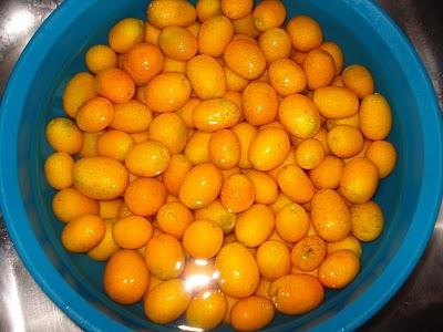 Doce de laranja caramelada  ou kin kan