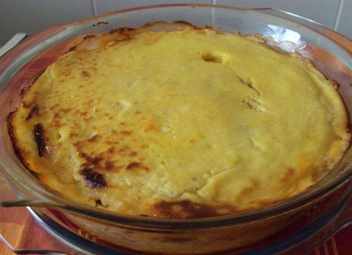 Torta de Bacalhau e Batatas