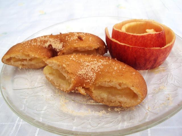 Fritos de maçã