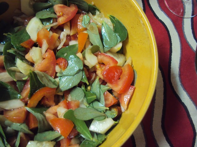 Salada de Tomate Alentejana
