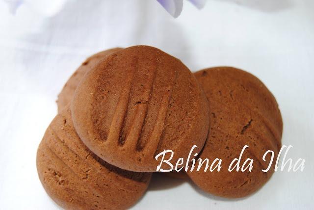 Biscoitos de cacau