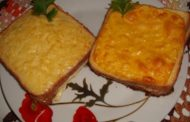 Sanduiche gratinado