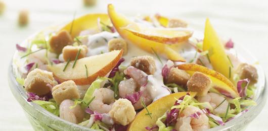 Salada Mista de Repolhos com Molho de Iogurte