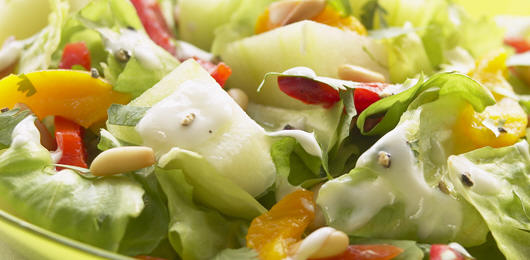 Salada Fresca com Melão