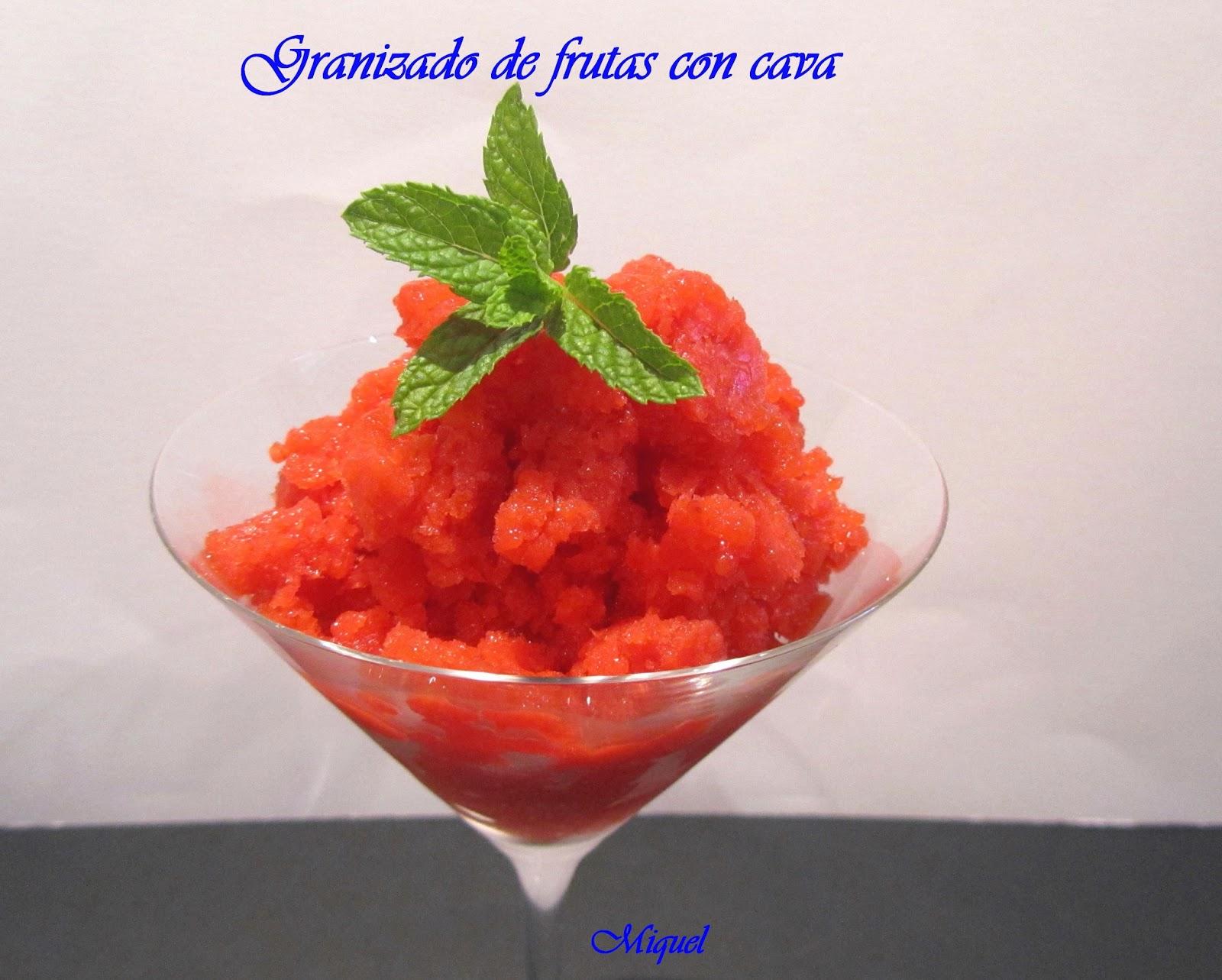 Granizado de fruta