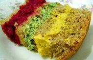 Lanche vegetariano colorido (para uma pessoa)