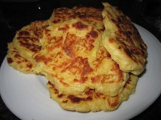 Panquecas de batatas