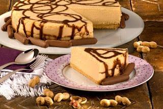 Torta Mousse de Amendoim