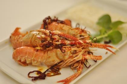 Leque de camarão