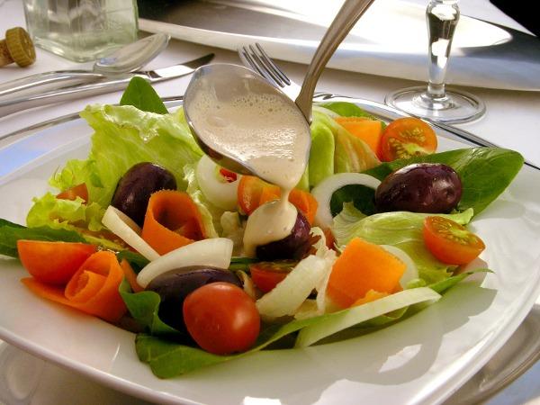 Molho requintado para saladas