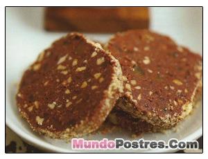 SALAME DE CHOCOLATE DE MICROONDAS