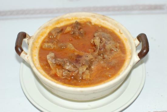 Carne de Vaca Estufada à Portuguesa