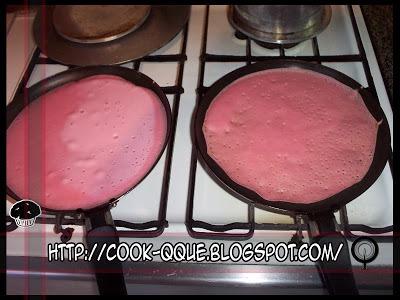 Panqueca de Beterraba e Cenoura