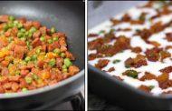 Sopa de ervilhas com massa ou arroz
