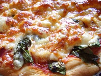 Pizza de Frango e Queijo