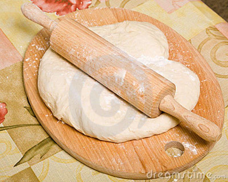 Preparação da Massa do Pão