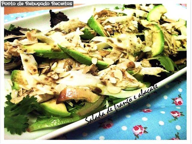 Salada de Frango e Abacate