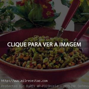 Salada Fria de Vegetais