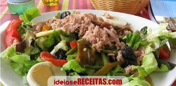 Salada de Bacalhau à Primavera