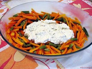 Salada de Legumes com Ricota