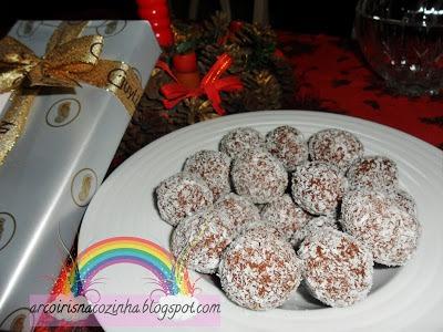 Bolinhos de Chocolate e Coco