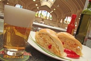 Sanduíches de Bacalhau