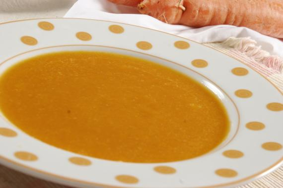 Sopa creme de cenouras