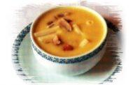 Sopa de grelos de nabo em caldo de chispe