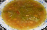 Sopa de Grão com cebola
