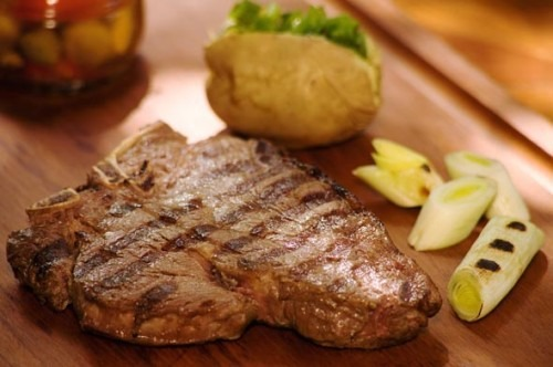 Steak a tiroleza