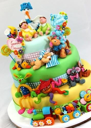Sugestão para bolo de aniversário
