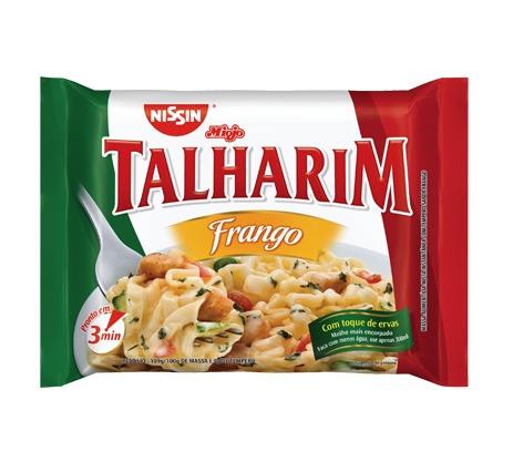 Talharim com Frango