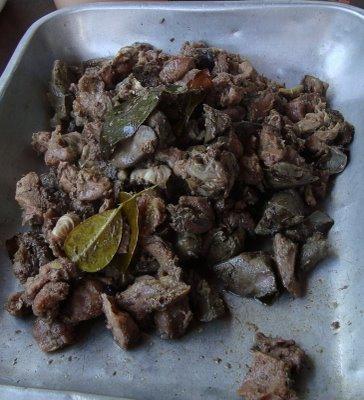 Flor de Papaia com Carne de Porco