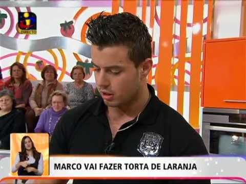 A «FAMOSA» TORTA DE LARANJA DE MARCO COSTA (Big Brother TVI)